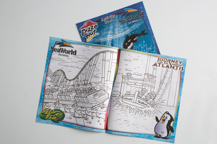 VOX Printing Kids Activity Books